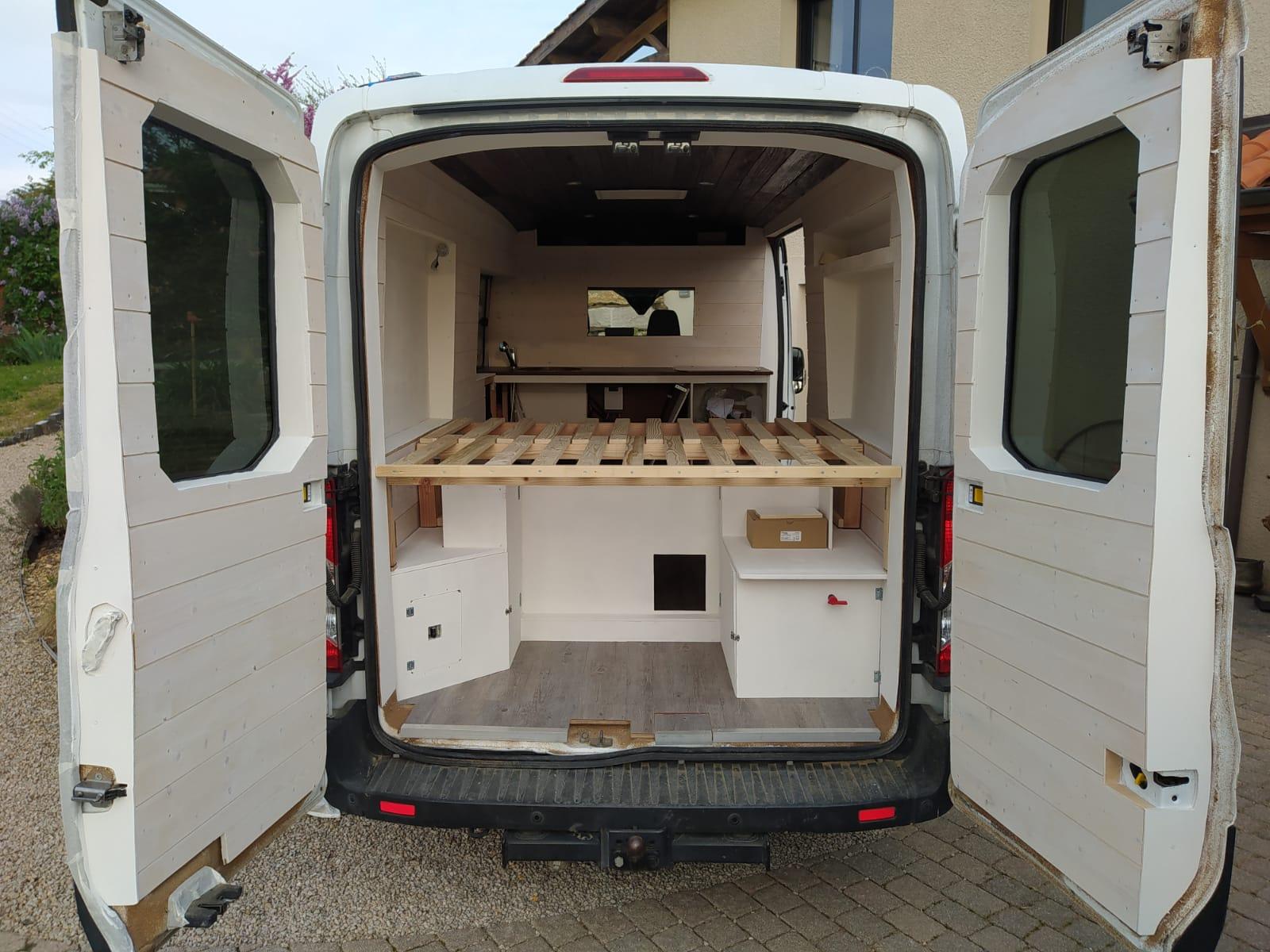 Installation électrique fourgon aménagé